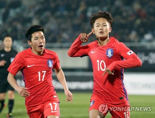 S. Korea beat Zambia 4-1 at U-20 World Cup test event