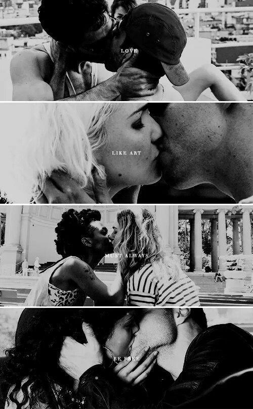 Love, like art, must always be free. #Sense8