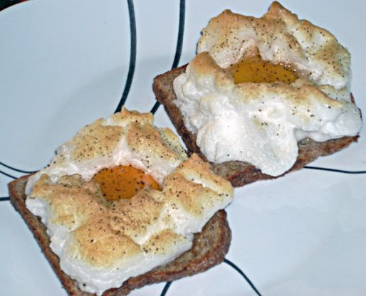 Make and share this Eggs on a Cloud for One or Two (Toaster Oven) recipe from Food.com.