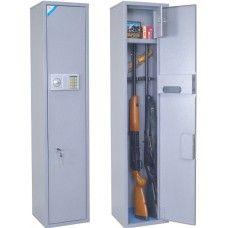 ОШН-3Э - Односекционный оружейный сейф (шкаф) на 3 ружья высотой до 1360 мм.