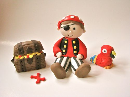 3D Pirate Set for Cake.  Do people really pay $75 for this stuff?  If so I'm in the wrong business.