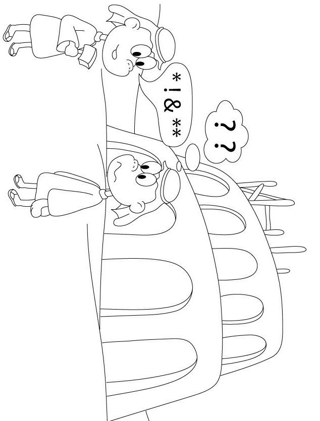 Print Tower Of Babel Coloring Page