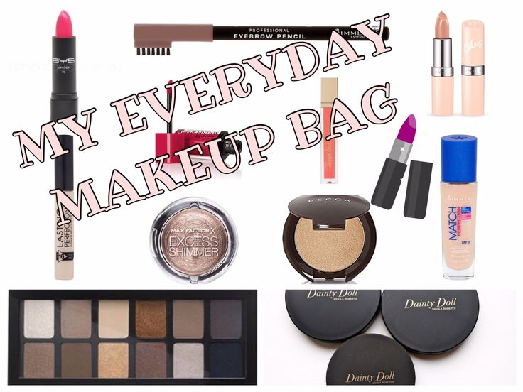My Everyday Makeup Bag