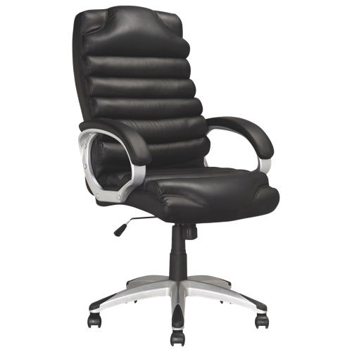 Corliving Workspace Leatherette Tilting Back Office Chair - Black. I need a chair for my desk too. #SetMeUpBBY 							 							 							- Online Only