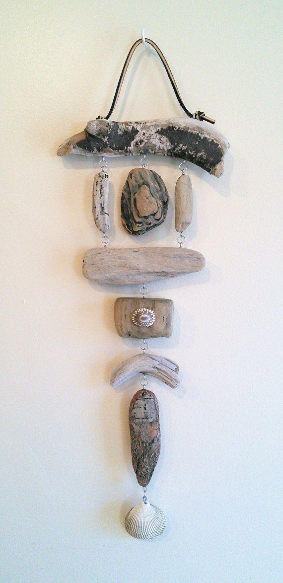 Hanging Driftwood Art