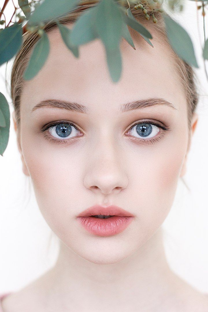 Nice natural make-up for young skin by Ekaterina Tsybiktarova