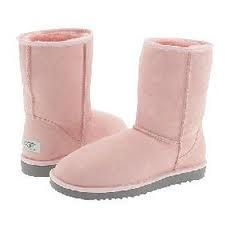 So comfy I could wear them every day. Pink ugg boots!