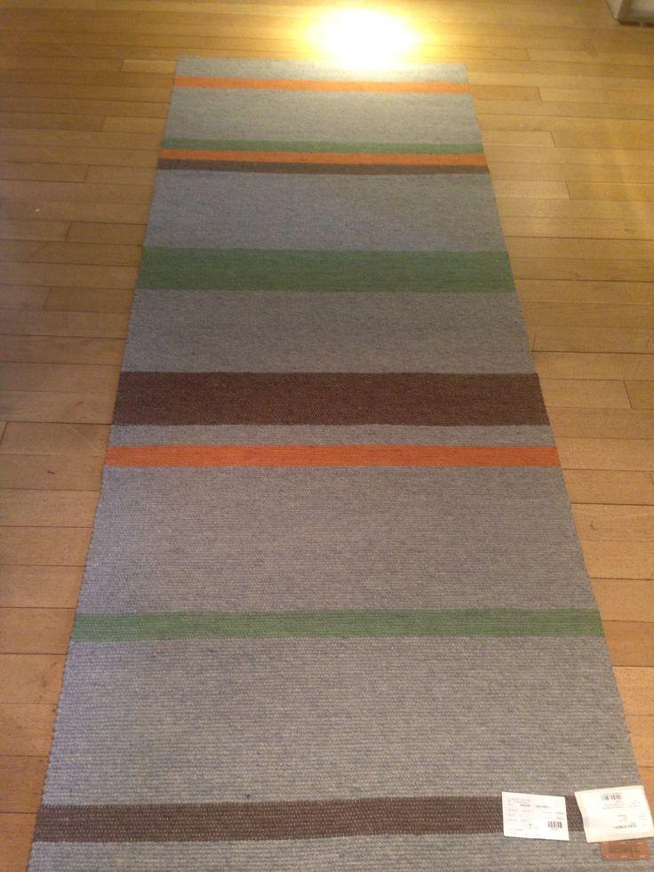 Design rug woven in Europa
