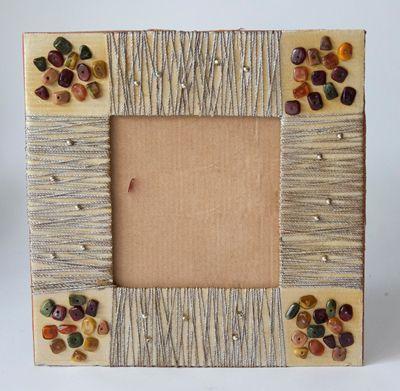 Идеи декорирования рамки для фото своими руками. Фото в интерьере - Ярмарка…
