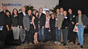 The PROs and the PMA: Hunter Williams (SESAC), Cassie Lord (5 Alarm Music), Alison Smith (BMI), Randy Thornton (Non-Stop Music), Ron Mendelsohn (Megatrax), Debra Young Krizman (PMA), Randy Wachtler (615 Music), Joe Saba (Videohelper), Ivy Tombak (Litchfield Entertainment), Joel Goodman (MusicBox), Randy Grimmett (ASCAP), Adam Taylor (APM), Norman Chesky (Manhattan Production Music), & Yoav Goren (Immediate Music). (Missing is Gary Gross of UPPM)
