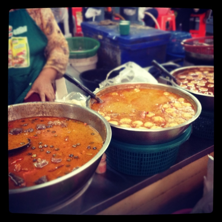 Thaifood # Kanomjeen kang kai Korat:)