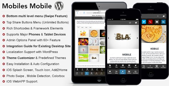 10+ Best Premium Mobile WordPress Themes
