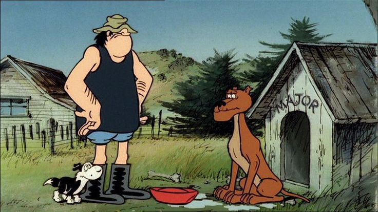 Footrot Flats (in colour) - Kiwiana icon | Footrot Flats | Pinterest ...