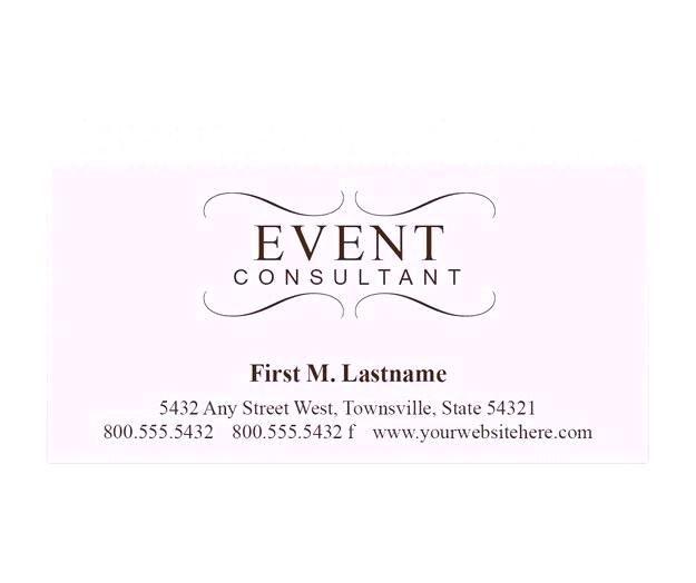 Business Cards Wedding Planner
