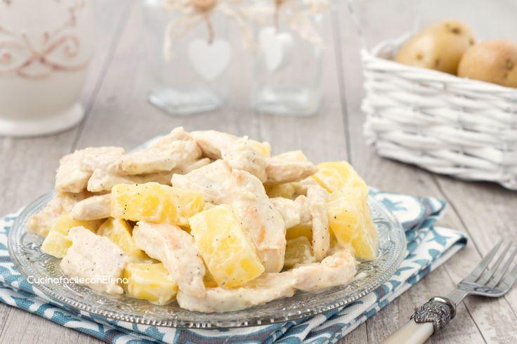 insalata fredda pollo e patate
