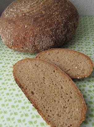 Dieses Brot ist knusprig, hat eine feste Krume und ein tolles Raucharoma. Grünkernbrot mit Chipotlepulver Chipotles sind geräucherte Jalapeños, die man entweder in Dosen kaufen kann oder aber auch getrocknet und in Pulverform. Sie geben disem Brot ein wunderbar rauchiges Aroma und auch etwas Schärfe. 100 g Grünkernmehl 400 g Weizenmehl Type 1050 350 mlRead more