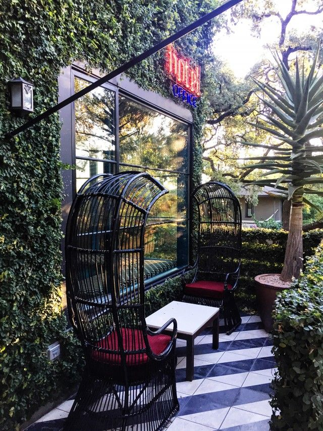 Hotel St. Cecilia, Austin, Texas would be a great place to get away in the Spring or Fall.