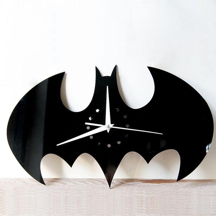 Halloween Batman Clock