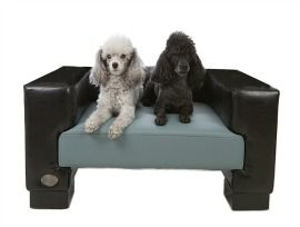 Chester & Wells Dog Bed Windsor Moonlite Slate - Luxury dog beds