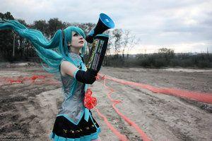 Love is war hatsune miku cosplay