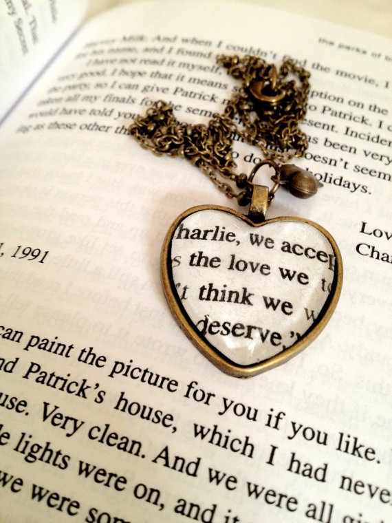 Perks of Being a Wallflower Necklace