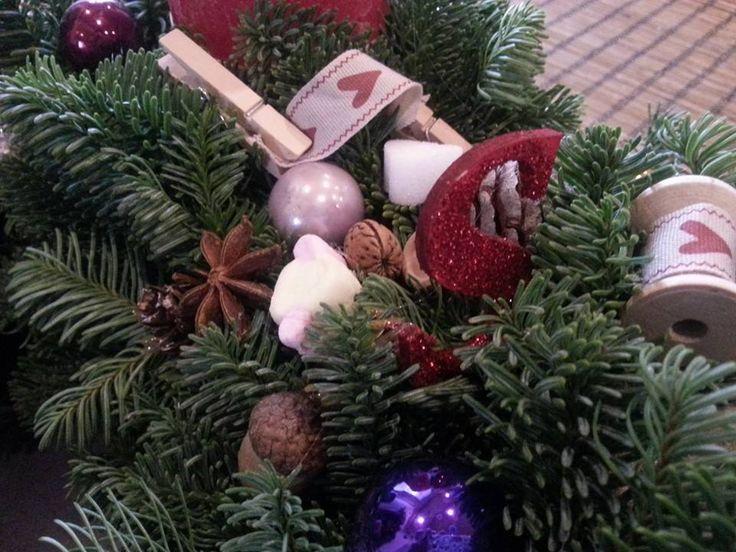 Adventi koszorú részlet Wreaths