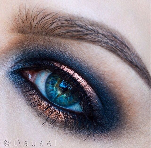 Love this combo with this eye color. Probably wouldnt look as good on my brown e…