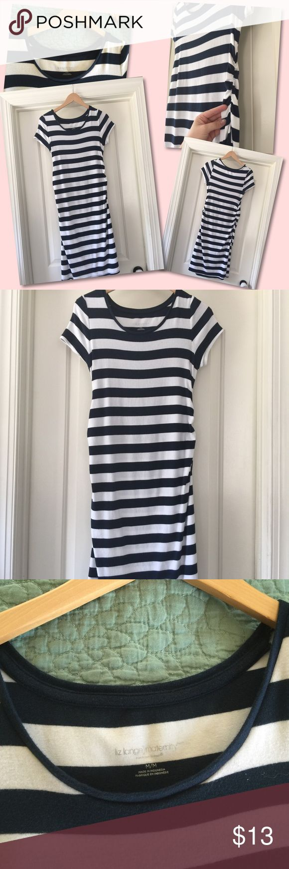 Women's maternity blue and white striped dress Women's maternity blue and white striped dress. liz lange maternity Dresses