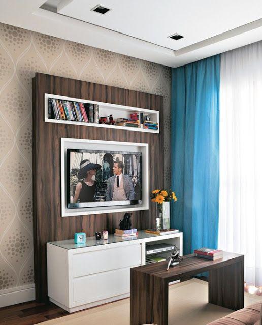 Sala pequena decorada ideas decorativas para espacios for Ideas decorativas para salas