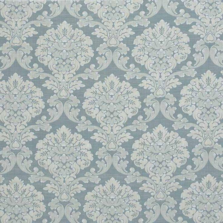 Warwick Fabrics : WINSLOW, Colour DUCK EGG