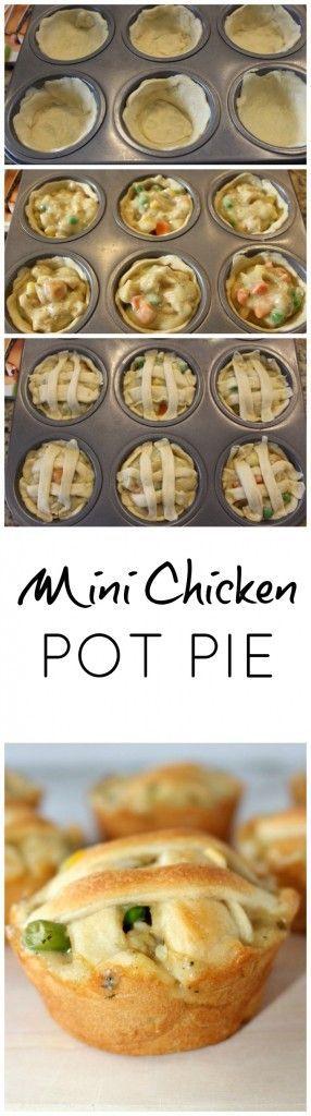 mini chicken pot pies recipes