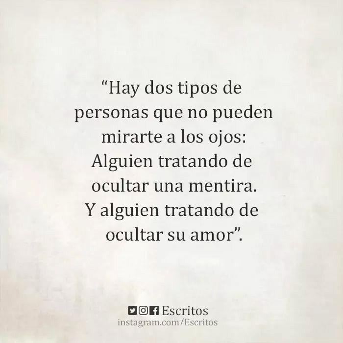 Dos tipos de personas...