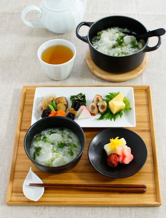 Photo: Japanese Rice Porridge Meal|Kayu お粥