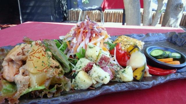 new washoku in Kyoto.  kkenbicafe.exblog...  穀菜健美cafe京都三条 tel 075-533-6900