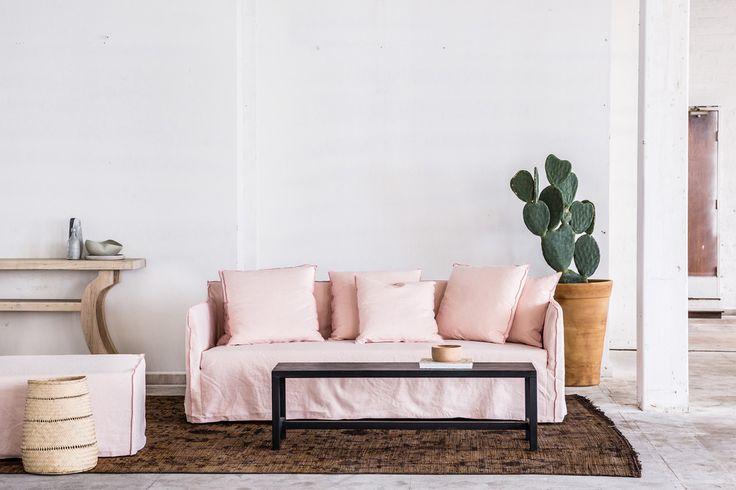 Joe sofa pink