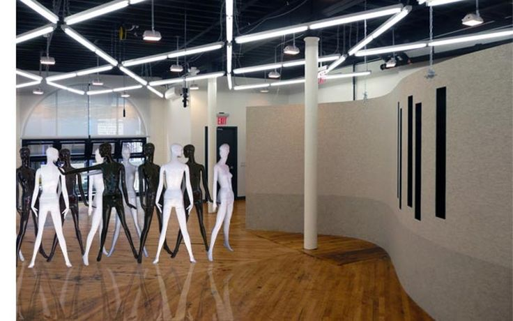 NY - Museum  The Textile Arts Centeroccupies ~5,000sf combined spacein Brooklyn and in Manhattan. The main space is located in Brooklyn in an old sweater factory betwee...