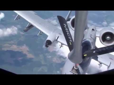 Air National Guard Aerial Refueling • WAR NEWS TODAY