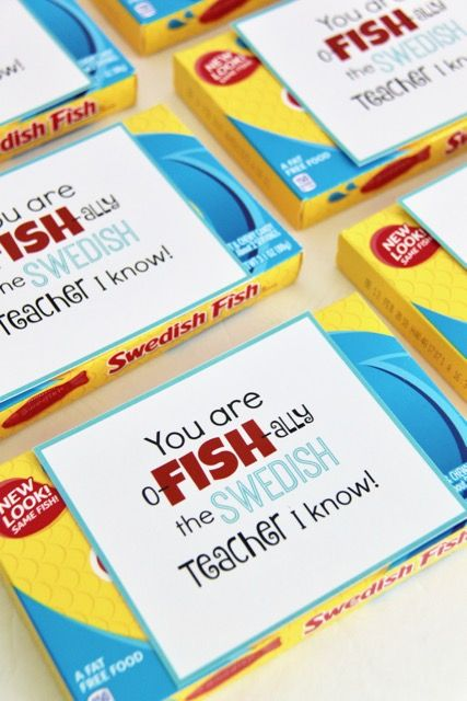 ThisSwedish Fish Teacher Appreciation Gift Idea and Free Printable is a super cute way to tell your teachers Thank You!This week just happens to be Teacher Appreciation Week and our school is doing a different theme each day to celebrate and thank our teachers. One day this week the kids are supposed to bring in …