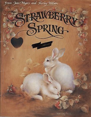 Strawberry Spring by Jean Myers & Shirley Wilson 1988 ...