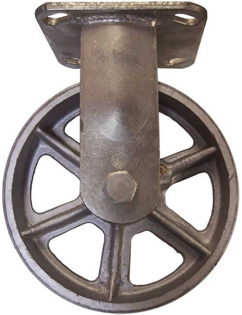 Artsy vintage industrial Stromberg casters for a very reasonable price at Material Flow & Conveyor Systems.