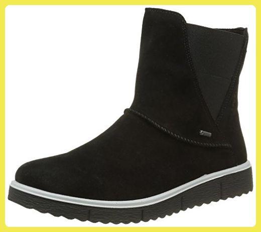 Legero Damen Campania 700651 Schneestiefel, Schwarz (SCHWARZ 00),  37.5 EU (4.5 UK) - Stiefel für frauen (*Partner-Link)