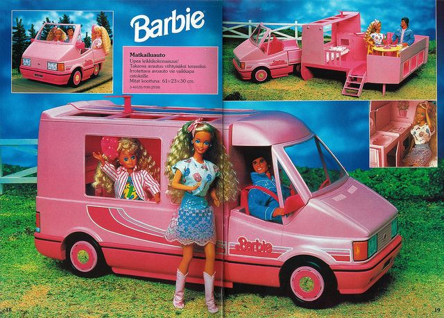 Barbie Journal 1992 (Finnish) | Flickr - Photo Sharing!