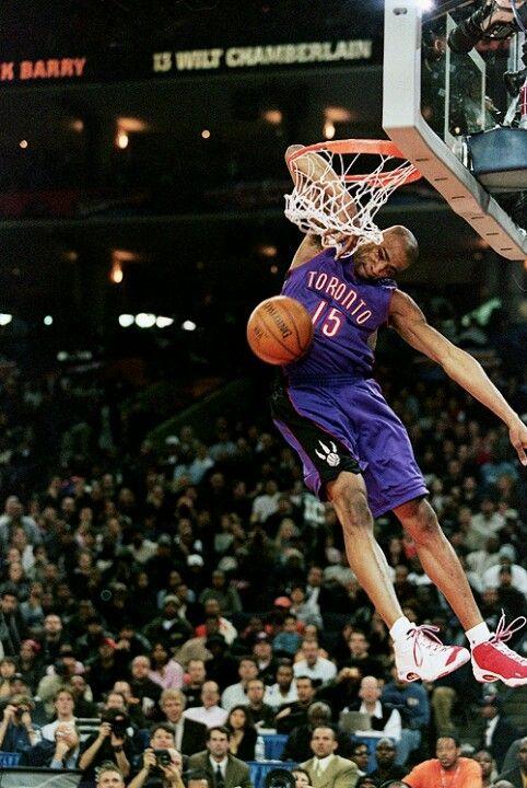 Vince Carter elbow dunk