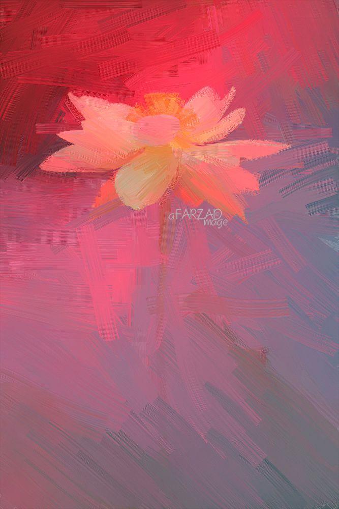 Lotus Flower Paintings - Image Based - Akvis Oil Paint Filter - akvis.com/en/oilpaint/index.php DD0A5511-1-ls5-1000