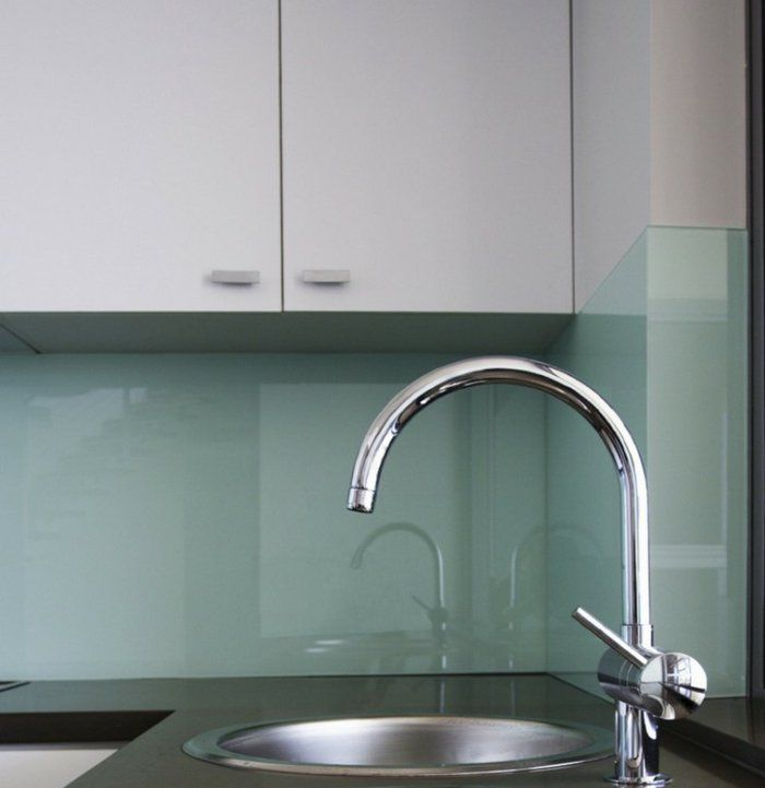 25 best ideas about k chenr ckwand aus glas on pinterest. Black Bedroom Furniture Sets. Home Design Ideas