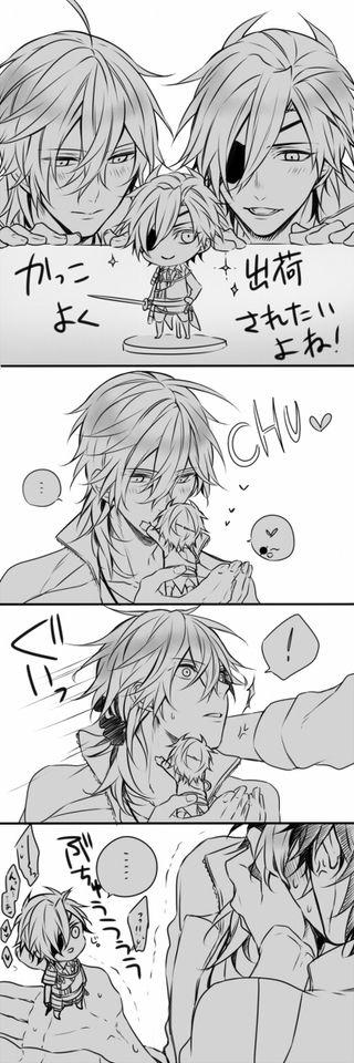 You're mine Kuri-chan, mine.