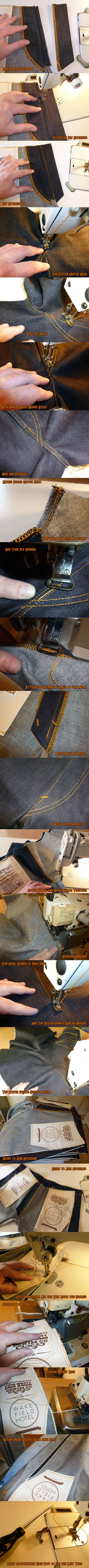 andewhall — MAKING JEANS