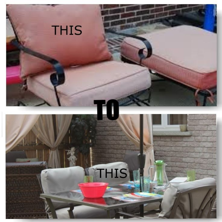 RESTORE your old and faded outdoor furniture cushions with CoverLOUNGIES.