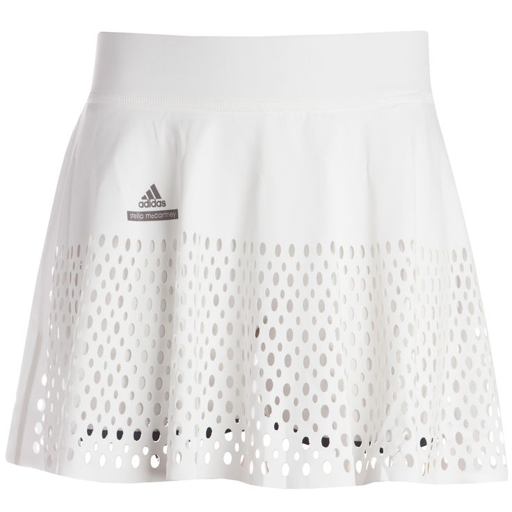 Distract your competition with this flirty skirt. Perforated details allow for a…