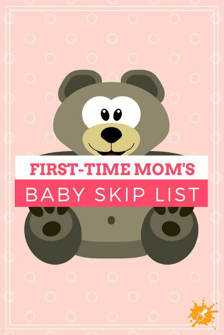 First-time Mom's Baby Skip List #babyproducts #shopping #firsttimemom #babyshower #parenting